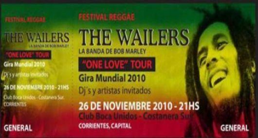 La banda de Bob Marley tocará por primera vez en el NEA