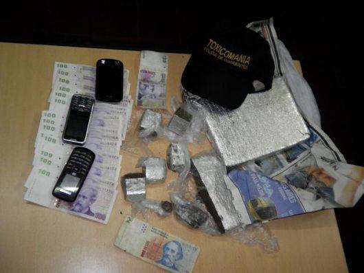 Desbaratan 'kiosco de droga' en el barrio San Marcelo