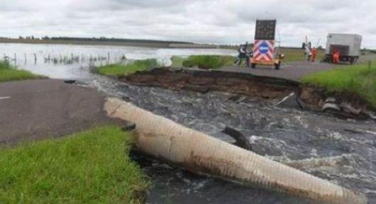 Desastres en zona Centro Norte por el diluvio histórico