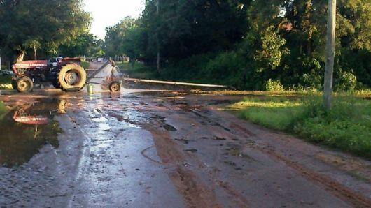 Bella Vista también sufrió de las lluvias