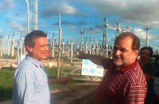 Energía: Ramini recorrió obras y apuntó a reforzar la distribución