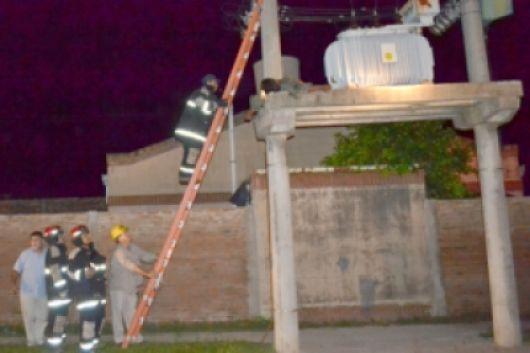 Goya: Falleció electrocutado un operario de la DPEC que trabajaba en la reparación de un transformador