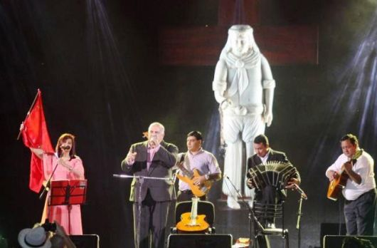 Raúl Noguera en la Fiesta Nacional del Chamame