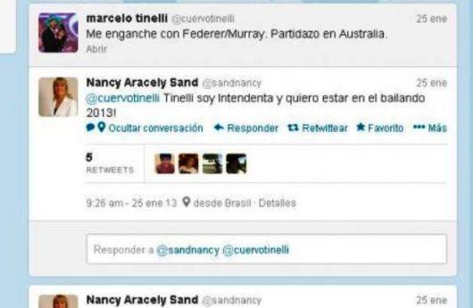 Nancy al Bailando?