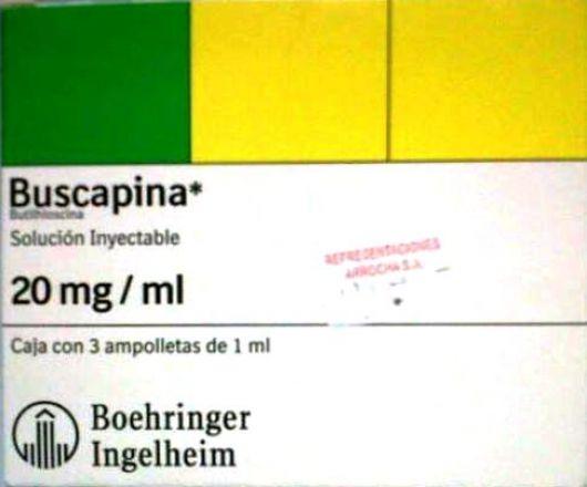 Anmat prohibió la venta de gran cantidad de Buscapina en todo el país