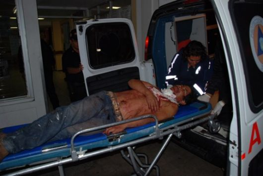 Monte Caseros: joven apuñalado en medio del corso