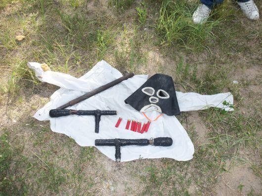 """La policía secuestró armas """"tumberas"""" en Santa Lucía"""