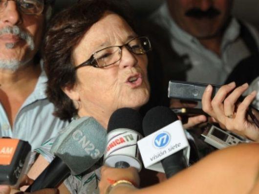 """La titular de CTERA, dijo """"Corrientes ya debería estar discutiendo las etapas del blanqueo salarial"""""""