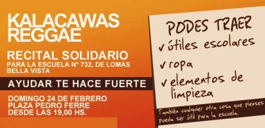 """Recital Solidario de """"Kalacawas"""""""