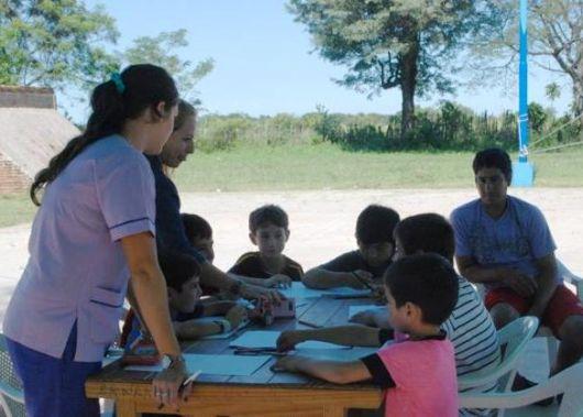 Contención psicológica a las familias damnificadas por las lluvias