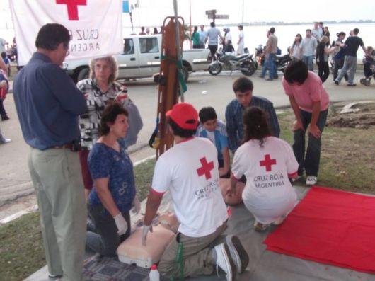 Cruz Roja Corrientes dictará cursos de primeros auxilios