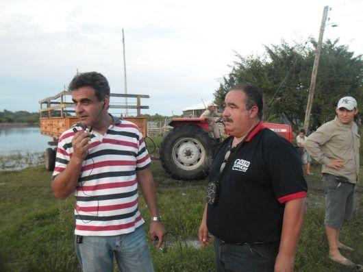 Santa Lucía: el río dio un respiro, pero sigue habiendo evacuados