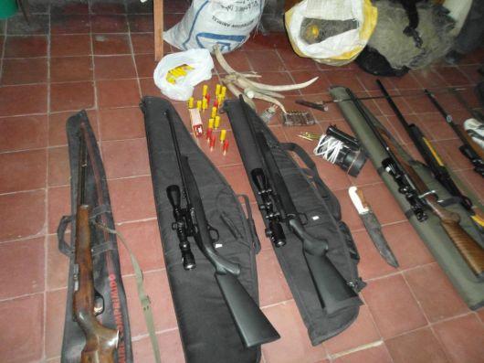 El fin de semana largo propició el aumento de la caza y la pesca ilegal