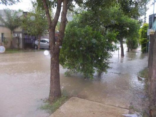 Tras lluvia torrencial, la Provincia asiste a 320 familias afectadas en Virasoro