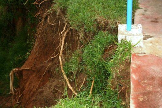 Se derrumba el Parque Cruz