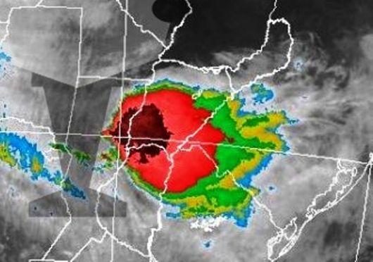 Rige una alerta meteorológica para Corrientes y la región