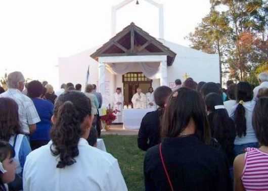 Finalizó la visita pastoral de tres días del Obispo a Saladas
