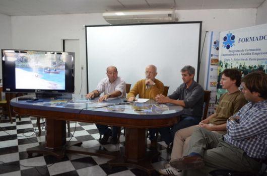 Presentaron la 2ª regata naútica Río Santa Lucía