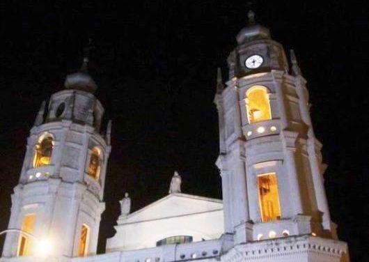 La torre de la Catedral goyana vuelve a lucir su reloj
