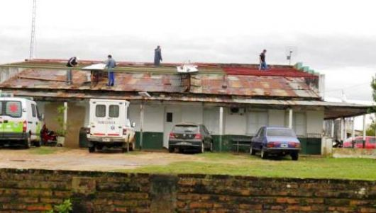 Temporal: arreglan viviendas y sigue la ayuda a los afectados