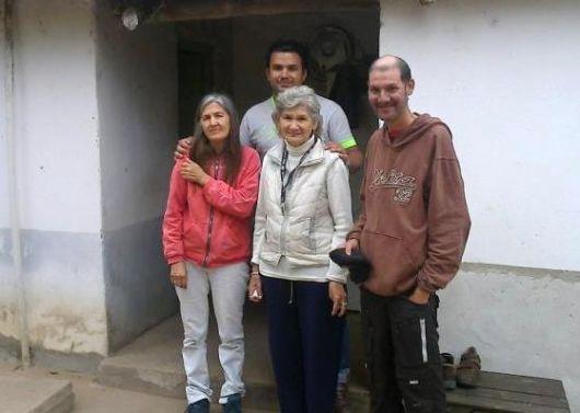 En la casa, a orillas del Paraná, la familia Ramos también espera al ex combatiente