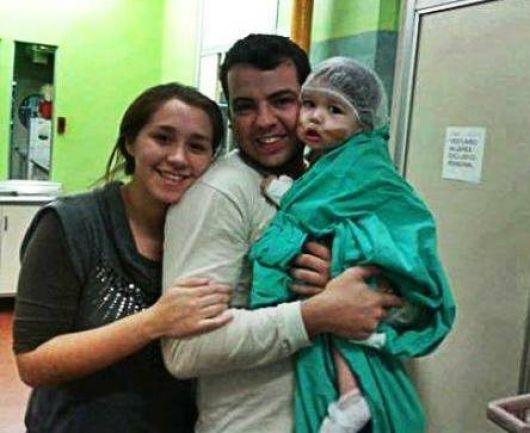 """""""Hoy Renzo también es mi hijo"""", dijo la mamá de la pequeña donante"""