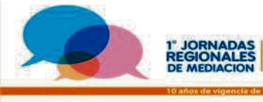 Primeras jornada regionales de mediacion
