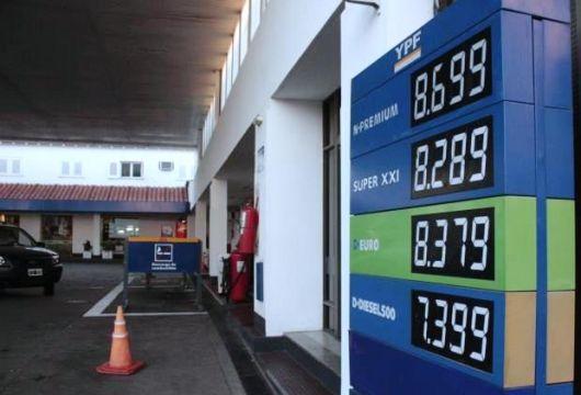 YPF aplicó una suba de 20 centavos en el precio de la nafta súper y del gasoil