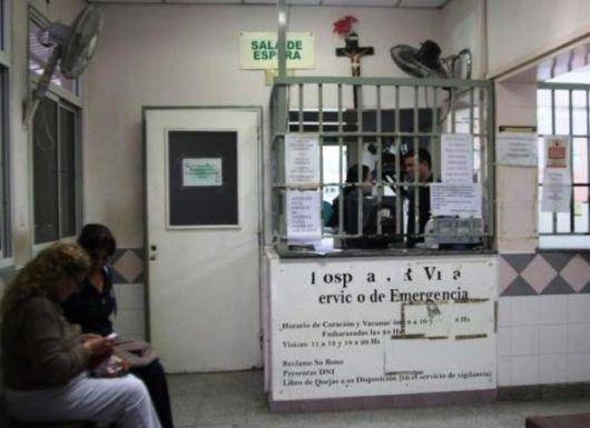 Abandonaron a una beba prematura en un canasto de ropa del Hospital Vidal