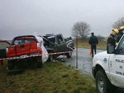 Dos victimas fatales en accidente cerca del INTA
