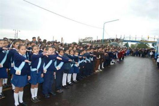 Actos por el día de la Bandera