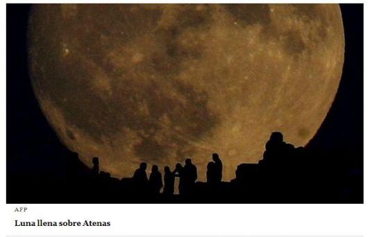 """Una """"Súper Luna"""" se podrá observar en el cielo argentino"""