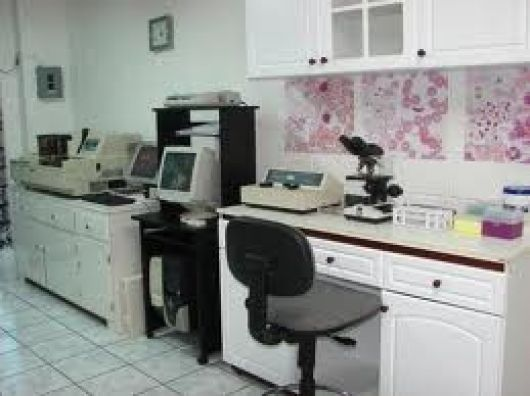 Laboratorio de análisis clínico en el CIC