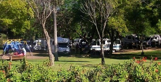 Rancho móvil Club Argentino hizo parada en nuestra ciudad