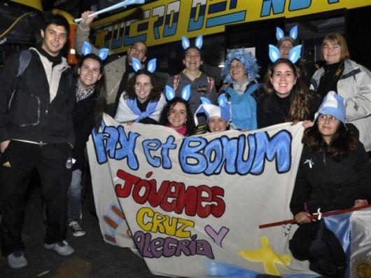 Francisco recibirá a los jóvenes argentinos
