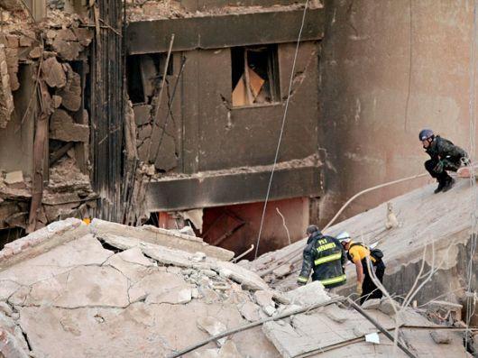 Rosario: buscan a 15 desaparecidos, tras la explosión que dejó 12 muertos