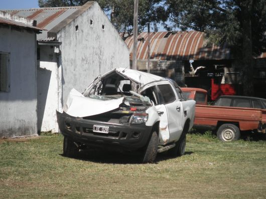 Accidente fatal en Ruta 27