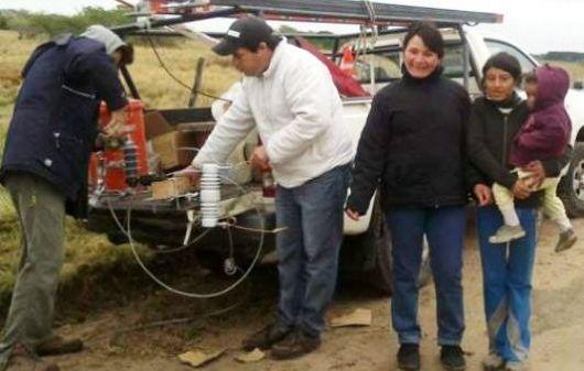 Nuevos transformadores en la zona rural