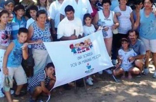 Jornada solidaria por la integración orientada a los más chicos