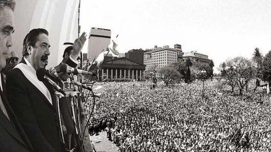 Hace 30 años: volvía la democracia y terminaba la dictadura
