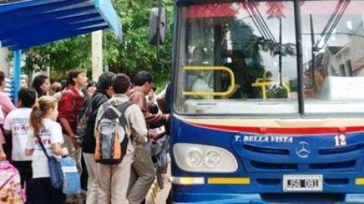 Aumentos en trasporte Urbano