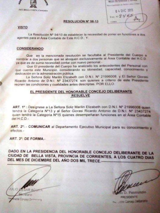 Disconformidad general por los nombramientos en el HCD