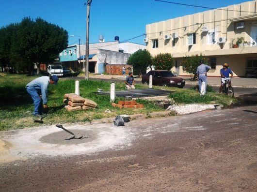 Obras en una de las zonas más problemáticas de la ciudad.