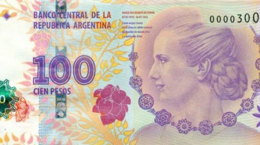 Cómo reconocer la autenticidad de los billetes de $100 de Evita