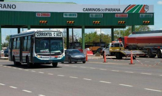 Desde el 1 de febrero el peaje Chaco-Corrientes costará $4