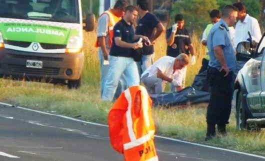 Dos víctimas fatales en siniestro vial sobre ruta 27