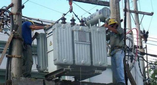 Más problemas con la energía eléctrica