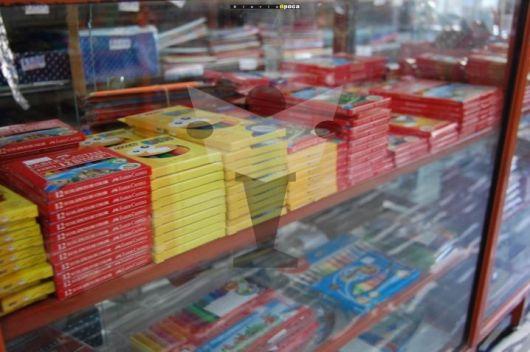 Artículos de librería con un nuevo aumento del 25%