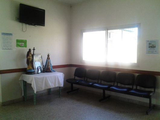 Visita al hospital El Salvador