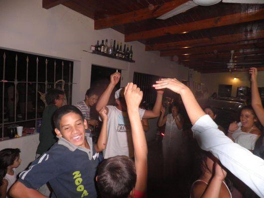 Guaycurúes  de fiesta